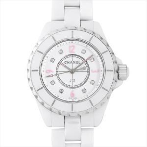 7b476ae127df 48回払いまで無金利 シャネル J12 ピンクライト 世界限定1200本 H4863 中古 レディース 腕時計