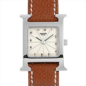 最大5万円オフクーポン配布 エルメス Hウォッチ HH1.210.260 中古 レディース 腕時計 48回払いまで無金利|ginzarasin