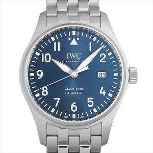 48回払いまで無金利 SALE IWC パイロットウォッチ マーク18 プティ・プランス IW327004 中古 メンズ 腕時計|ginzarasin