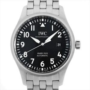 48回払いまで無金利 IWC パイロットウォッチ マーク18 IW327015 中古 メンズ 腕時計