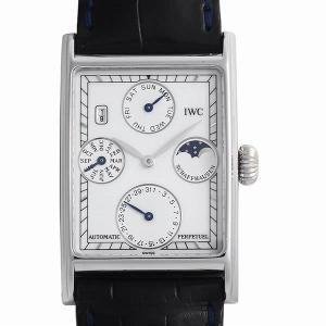 48回払いまで無金利 SALE IWC ノヴェチェント パーペチュアルカレンダー IW3546 中古 メンズ 腕時計 ginzarasin