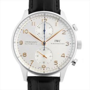 48回払いまで無金利 IWC ポルトギーゼ クロノグラフ IW371445 中古 メンズ 腕時計