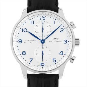 48回払いまで無金利 IWC ポルトギーゼ クロノグラフ IW371446 中古 メンズ 腕時計