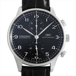 48回払いまで無金利 SALE IWC ポルトギーゼ クロノグラフ IW371447 中古 メンズ 腕時計 ginzarasin