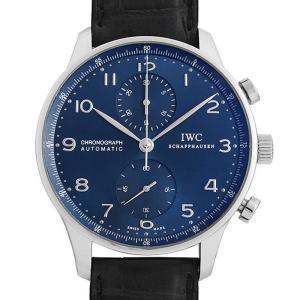 48回払いまで無金利 IWC ポルトギーゼ クロノグラフ IW371491 中古 メンズ 腕時計|ginzarasin