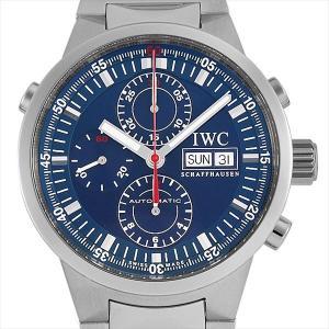 48回払いまで無金利 IWC GSTクロノグラフ ラトラパンテ IW3715 中古 メンズ 腕時計|ginzarasin