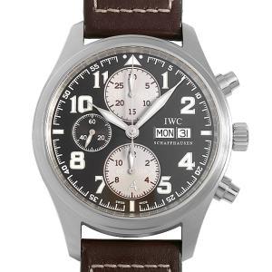 48回払いまで無金利 IWC パイロットウォッチ クロノグラフ アントワーヌ ド サンテグジュペリ 世界限定1630本 IW371709 中古 メンズ 腕時計|ginzarasin