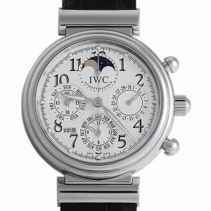 48回払いまで無金利 SALE IWC ダヴィンチ パーペチュアルカレンダー クロノグラフ IW375803 中古 メンズ 腕時計|ginzarasin