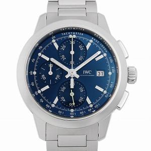 48回払いまで無金利 IWC インヂュニア クロノグラフ IW380802 中古 メンズ 腕時計|ginzarasin
