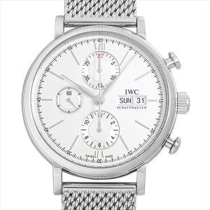 48回払いまで無金利 IWC ポートフィノ クロノグラフ IW391009 中古 メンズ 腕時計...