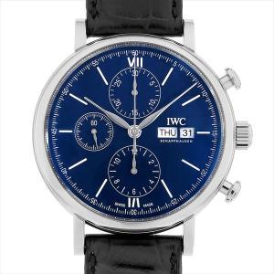 48回払いまで無金利 IWC ポートフィノ クロノグラフ 150イヤーズ IW391023 中古 メンズ 腕時計|ginzarasin