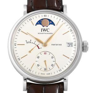 48回払いまで無金利 IWC ポートフィノ ハンドワインド ムーンフェイズ IW516401 中古 メンズ 腕時計|ginzarasin