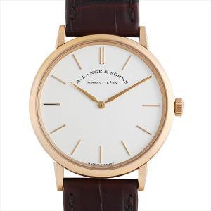 60回払いまで無金利 ランゲ&ゾーネ サクソニア フラッハ 201.033(LS2014AG) 中古 メンズ 腕時計|ginzarasin