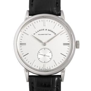 48回払いまで無金利 ランゲ&ゾーネ サクソニア LS2193AJ 219.026 中古 メンズ 腕時計|ginzarasin