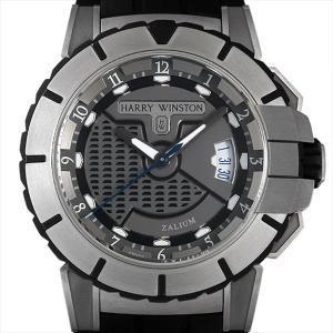 最大2万円OFFクーポン配布 ハリーウィンストン オーシャンスポーツ オートマティック OCSAHD44ZZ001 中古 メンズ 腕時計 48回払いまで無金利|ginzarasin