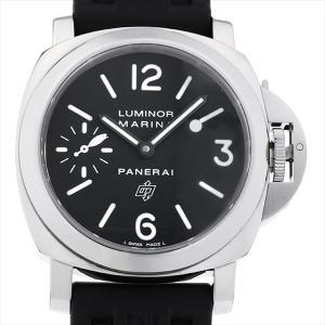 48回払いまで無金利 パネライ ルミノールマリーナ ロゴ PAM00005 Q番 中古 メンズ 腕時計|ginzarasin