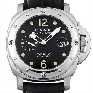 48回払いまで無金利 パネライ ルミノール サブマーシブル PAM00024 ポリッシュベゼル C番 中古 メンズ 腕時計|ginzarasin