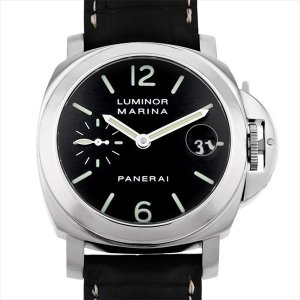 48回払いまで無金利 パネライ ルミノールマリーナ PAM00048 G番 中古 メンズ 腕時計|ginzarasin