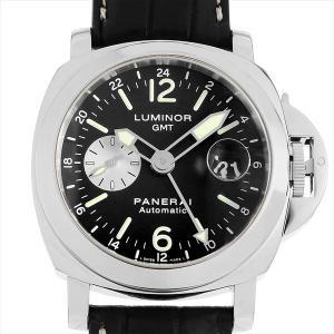 48回払いまで無金利 パネライ ルミノールGMT PAM00088 D番 中古 メンズ 腕時計|ginzarasin