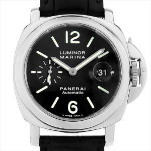 48回払いまで無金利 パネライ ルミノールマリーナ PAM00104 H番 中古 メンズ 腕時計|ginzarasin