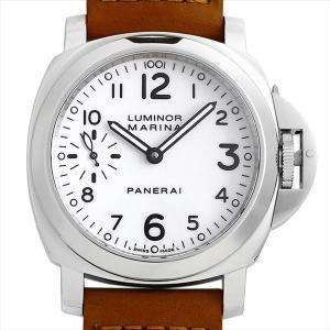 48回払いまで無金利 パネライ ルミノールマリーナ PAM00113 M番 中古 メンズ 腕時計|ginzarasin