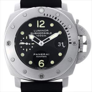 48回払いまで無金利 パネライ ルミノール サブマーシブル 1950 PAM00243 M番 中古 メンズ 腕時計|ginzarasin