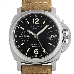 48回払いまで無金利 パネライ ルミノール GMT PAM00244 L番 中古 メンズ 腕時計|ginzarasin