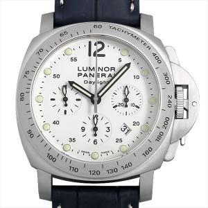 48回払いまで無金利 パネライ ルミノールクロノ デイライト PAM00251 J番 中古 メンズ 腕時計|ginzarasin