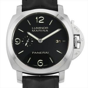 48回払いまで無金利 パネライ ルミノールマリーナ 1950 3DAYS PAM00312 P番 中古 メンズ 腕時計|ginzarasin