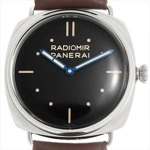 48回払いまで無金利 SALE パネライ ラジオミール S.L.C 3DAYS 限定750本 PAM00449 O番 中古 メンズ 腕時計|ginzarasin
