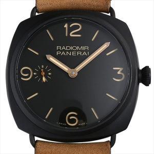 48回払いまで無金利 SALE パネライ ラジオミール コンポジット 3DAYS PAM00504 O番 中古 メンズ 腕時計|ginzarasin