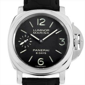 48回払いまで無金利 パネライ ルミノールマリーナ 8DAYS PAM00510 U番 中古 メンズ 腕時計|ginzarasin