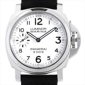 48回払いまで無金利 パネライ ルミノールマリーナ 8DAYS アッチャイオ PAM00563 Q番  中古 メンズ 腕時計|ginzarasin