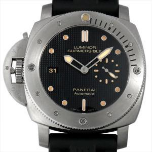 48回払いまで無金利 パネライ ルミノール サブマーシブル1950 レフトハンド 3DAYS オートマチック チタニオ Q番 PAM00569 中古 メンズ 腕時計|ginzarasin