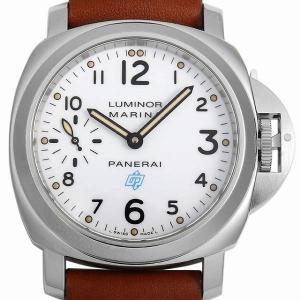 48回払いまで無金利 パネライ ルミノール マリーナ ロゴ アッチャイオ PAM00660 S番 中古 メンズ 腕時計|ginzarasin
