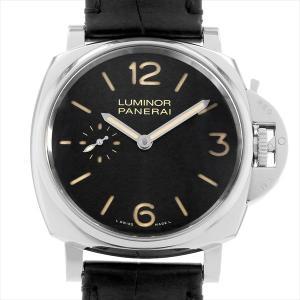 48回払いまで無金利 パネライ ルミノール ドゥエ 3デイズ アッチャイオ PAM00676 T番 中古 メンズ 腕時計|ginzarasin
