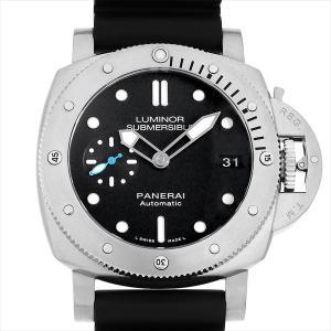 48回払いまで無金利 パネライ ルミノール サブマーシブル 1950 3デイズ オートマティック PAM00682 T番  中古 メンズ 腕時計|ginzarasin