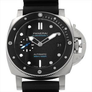 48回払いまで無金利 パネライ サブマーシブル PAM00683 V番 中古 メンズ 腕時計|ginzarasin