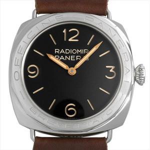 48回払いまで無金利 パネライ ラジオミール 3デイズ アッチャイオ スペシャルエディション PAM00685 T番 中古 メンズ 腕時計|ginzarasin
