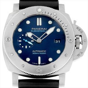 48回払いまで無金利 パネライ ルミノール サブマーシブル 1950 BMG-TECH 3デイズ オートマティック PAM00692 T番 中古 メンズ 腕時計|ginzarasin