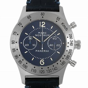 48回払いまで無金利 パネライ マーレ ノストゥルム アッチャイオ 世界限定1000本 PAM00716 T番 中古 メンズ 腕時計|ginzarasin