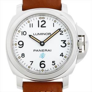 48回払いまで無金利 パネライ ルミノール ベース ロゴ 3デイズ アッチャイオ PAM00775 U番 中古 メンズ 腕時計|ginzarasin