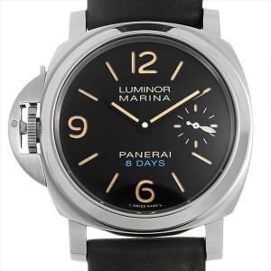 48回払いまで無金利 パネライ ルミノール レフトハンド 8デイズ アッチャイオ PAM00796 U番 中古 メンズ 腕時計|ginzarasin