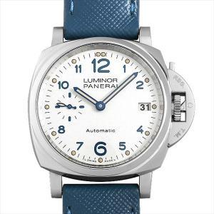 48回払いまで無金利 パネライ ルミノール ドゥエ 3デイズ オートマティック アッチャイオ PAM00903 P番 中古 レディース 腕時計|ginzarasin
