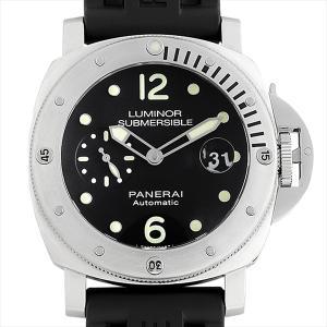 48回払いまで無金利 パネライ ルミノール サブマーシブル オートマティック アッチャイオ PAM01024 U番 中古 メンズ 腕時計|ginzarasin