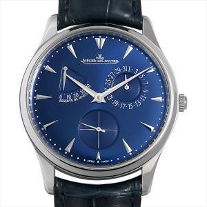 48回払いまで無金利 ジャガールクルト マスター ウルトラスリム リザーブドマルシェ Q1378480(176.8.38.S) 中古 メンズ 腕時計|ginzarasin