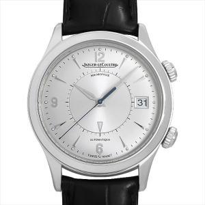 48回払いまで無金利 ジャガールクルト マスターメモボックス Q1418430(174.8.96) 中古 メンズ 腕時計|ginzarasin