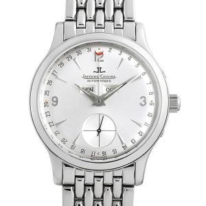 48回払いまで無金利 ジャガールクルト マスターデイト Q147842A 中古 メンズ 腕時計|ginzarasin