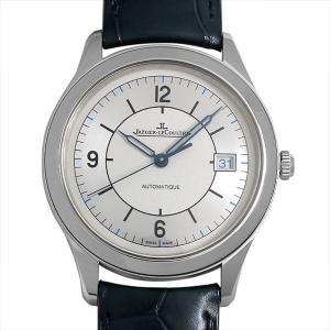 48回払いまで無金利 ジャガールクルト マスターコントロール デイト Q1548530 中古 メンズ 腕時計|ginzarasin