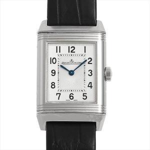48回払いまで無金利 ジャガールクルト レベルソ クラシック スモール Q2618430(211.8.47) 中古 レディース 腕時計|ginzarasin